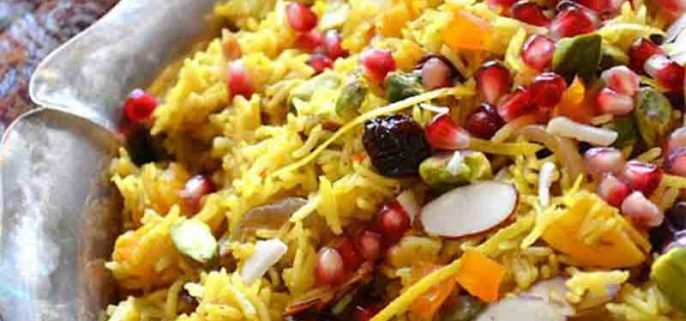 پلوی انار شیرازی