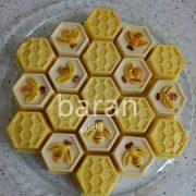 دسر شیرعسلی زنبوری در وبسایت سلام شف