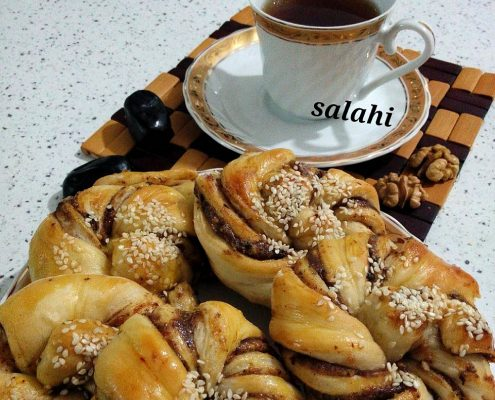نان خرمایی سلام شف