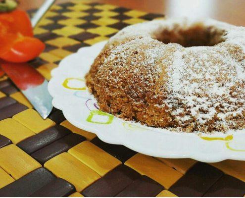 کیک خرمالو در وبسایت سلام شف