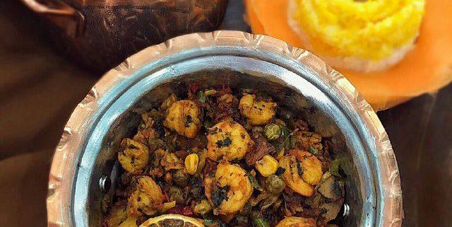خوراک میگوی عربی