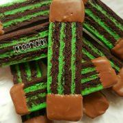 شیرینی شکلات و نعنا