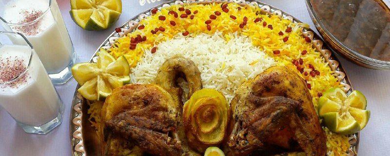 مرغ به سبک پاکستانی