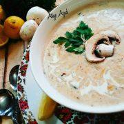 سوپ مجلسی خامه ای
