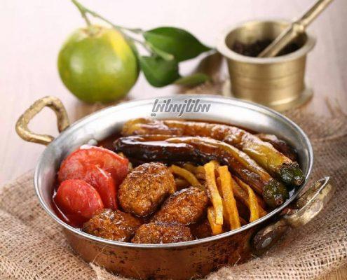 ترشه شامی گیلانی آشپزی با ما