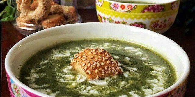 سوپ اسفناج