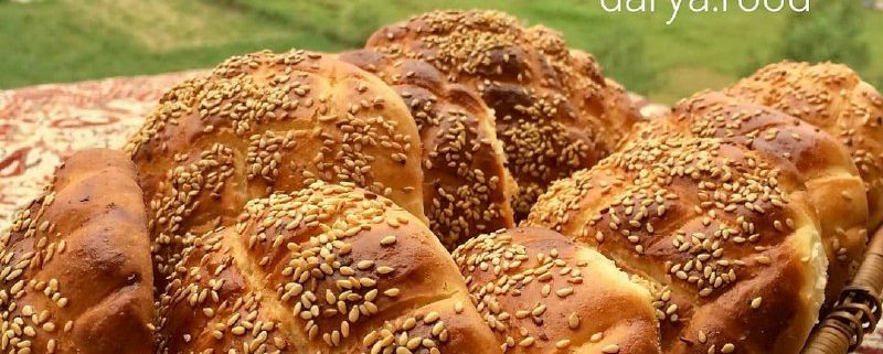 آموزش نان شیرین خوشمزه